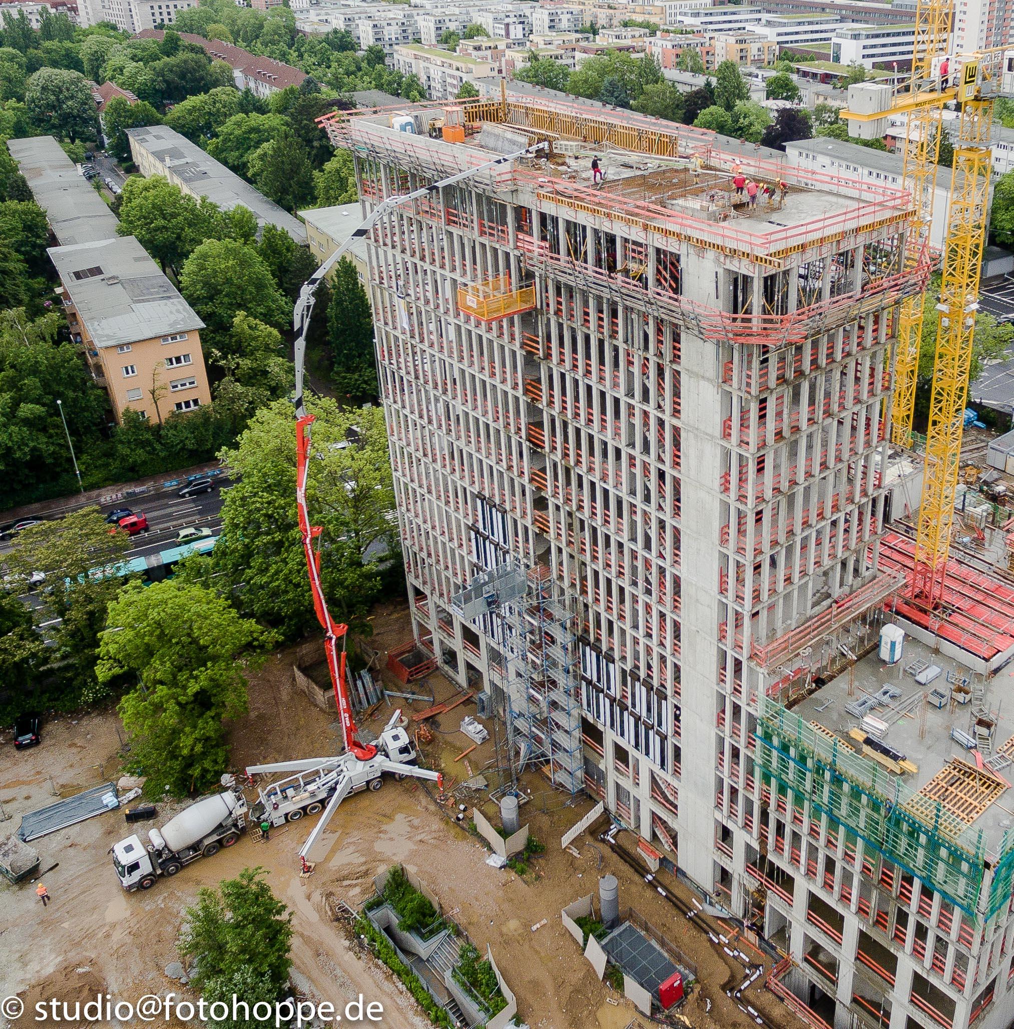 Grossbaustelle Frankfurt